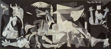 Guernica, by Pablo Picasso. 1937