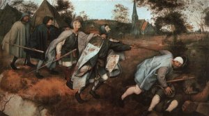 Pieter Bruegel the Elder. The Parable of the Blind. 1568. Oil on canvas. Museo di Capodimonte, Naples, Italy