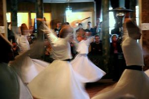 Whirling Dervishes, Istanbul. Photo by Lohen11