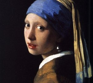 The Girl With the Pearl Earring, by Jan Vermeer. 1665