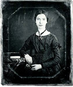 Emily Dickinson. 1846. Photo by William C. North