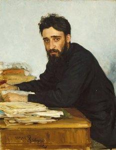 Vsevolod Garshin, by Ilya Repin. 1884.