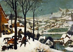 Pieter Bruegel's Hunters in the Snow. 1565