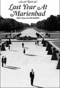 Last Year at Marienbad. Directed by Alain Resnais. 1961