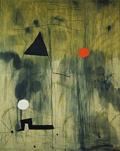 Joan Miró's Birth of the World. 1925
