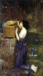 Pandora, by John William Waterhouse. 1896
