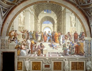 School of Athens, by Raphael. 1510