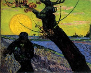 The Sower, by Van Gogh. 1888
