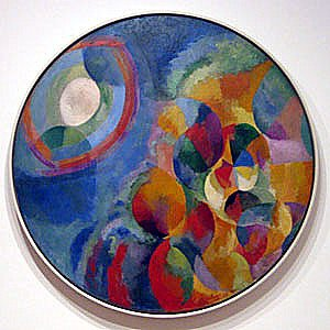 Sun and Moon, by Robert Delaunay. 1913