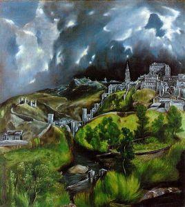 El Greco's View of Toledo. 1596-1600. The Met, NYC.