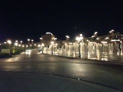 Emirates Palace - fountains (left).