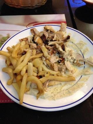 Shawarma (Lebanese food).