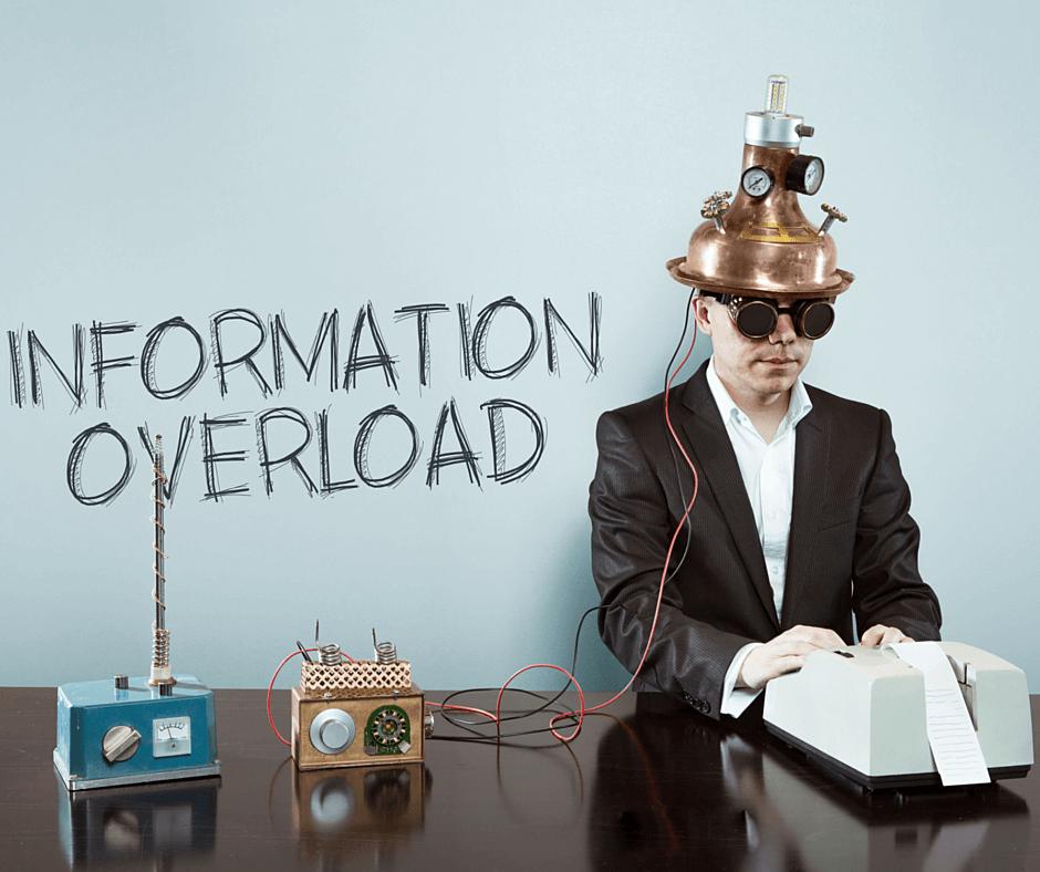 Image result for information overload image