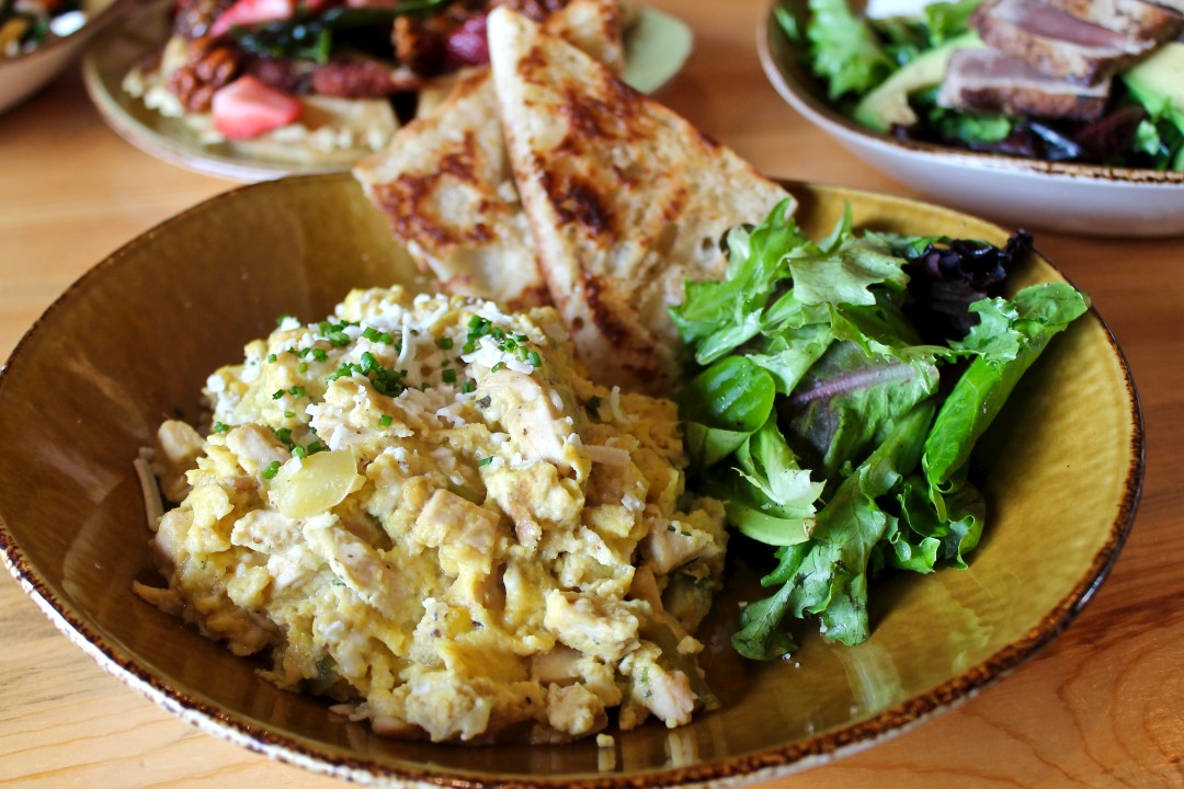 chicken soft scramble