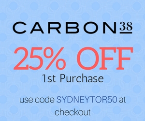 25% off Carbon 38