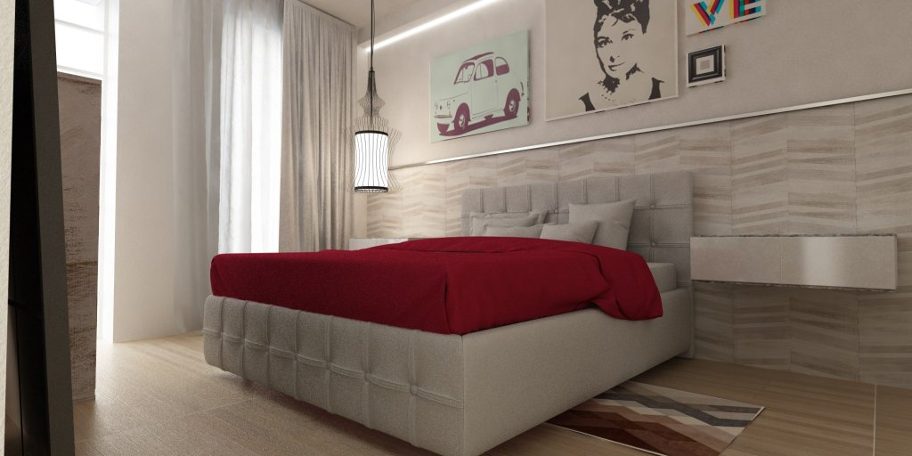Render Interni Reggio Emilia altra visuale | SP Interior Design