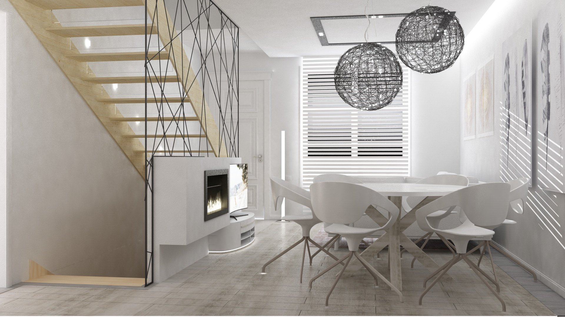 Render Interni Jesolo altra visuale | SP Interior Design