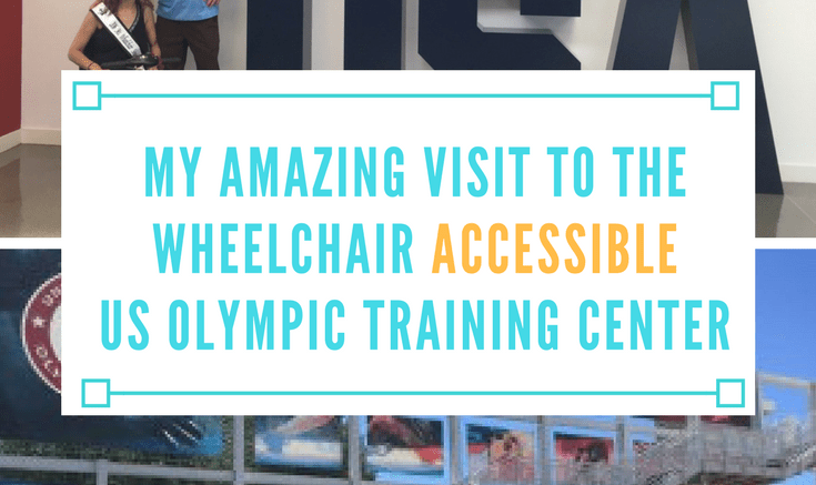my amazing visit to the wheelchair accessible us olympic training center