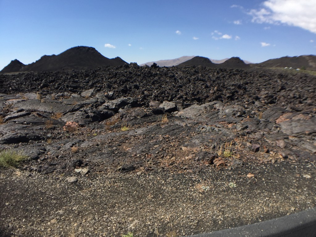 Wheeling Solo on the Road: Craters of the Moon, ID