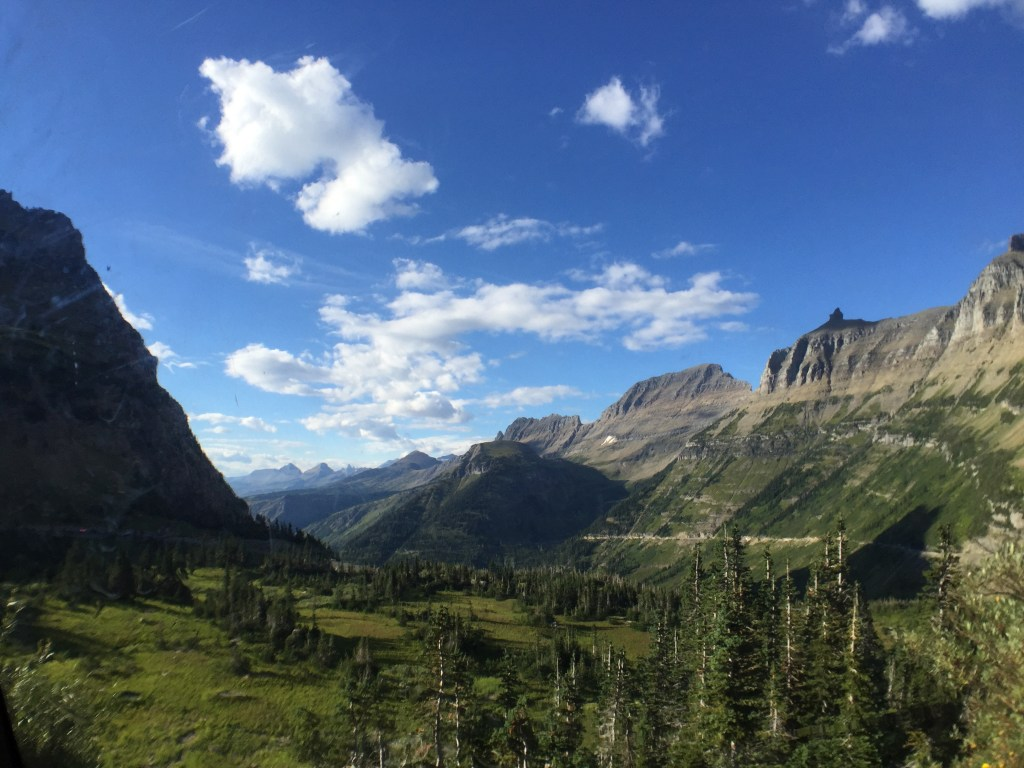 Wheeling Solo on the Road: Glacier National Park, MT