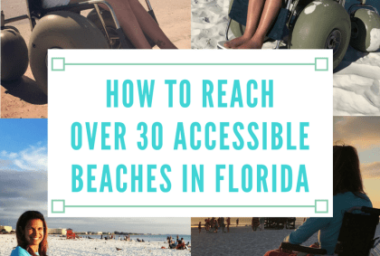 how to reach over 30 accessible beaches in florida
