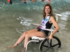 water wheelchair wave pool great wolf lodge concord