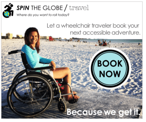 spin the globe accessible travel agency book now