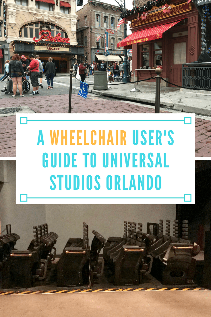 A Wheelchair User's Guide to Universal Studios Orlando