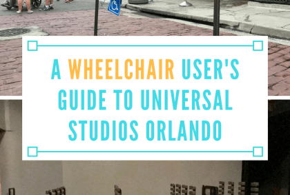 a wheelchair user guide to universal studios orlando