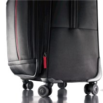suitcase spinner wheels wheelchair travel hacks