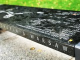 chopin bench warsaw poland