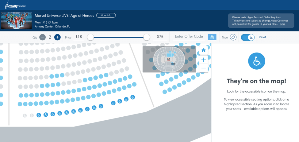 ticketmaster how to choose seats