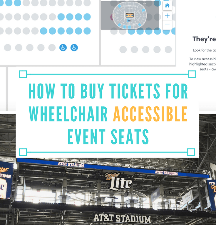 How to Buy Tickets for Wheelchair Accessible Seats at Events