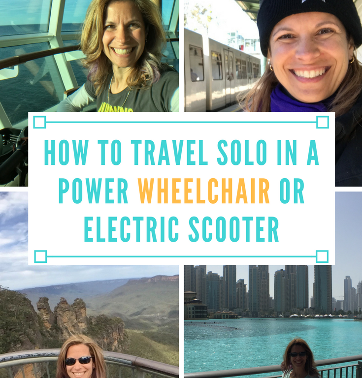 How to Travel Solo in a Power Wheelchair or Scooter