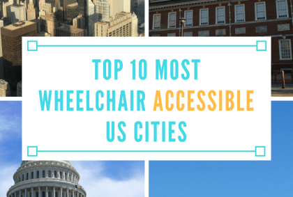 top 10 most wheelchair accessible us cities