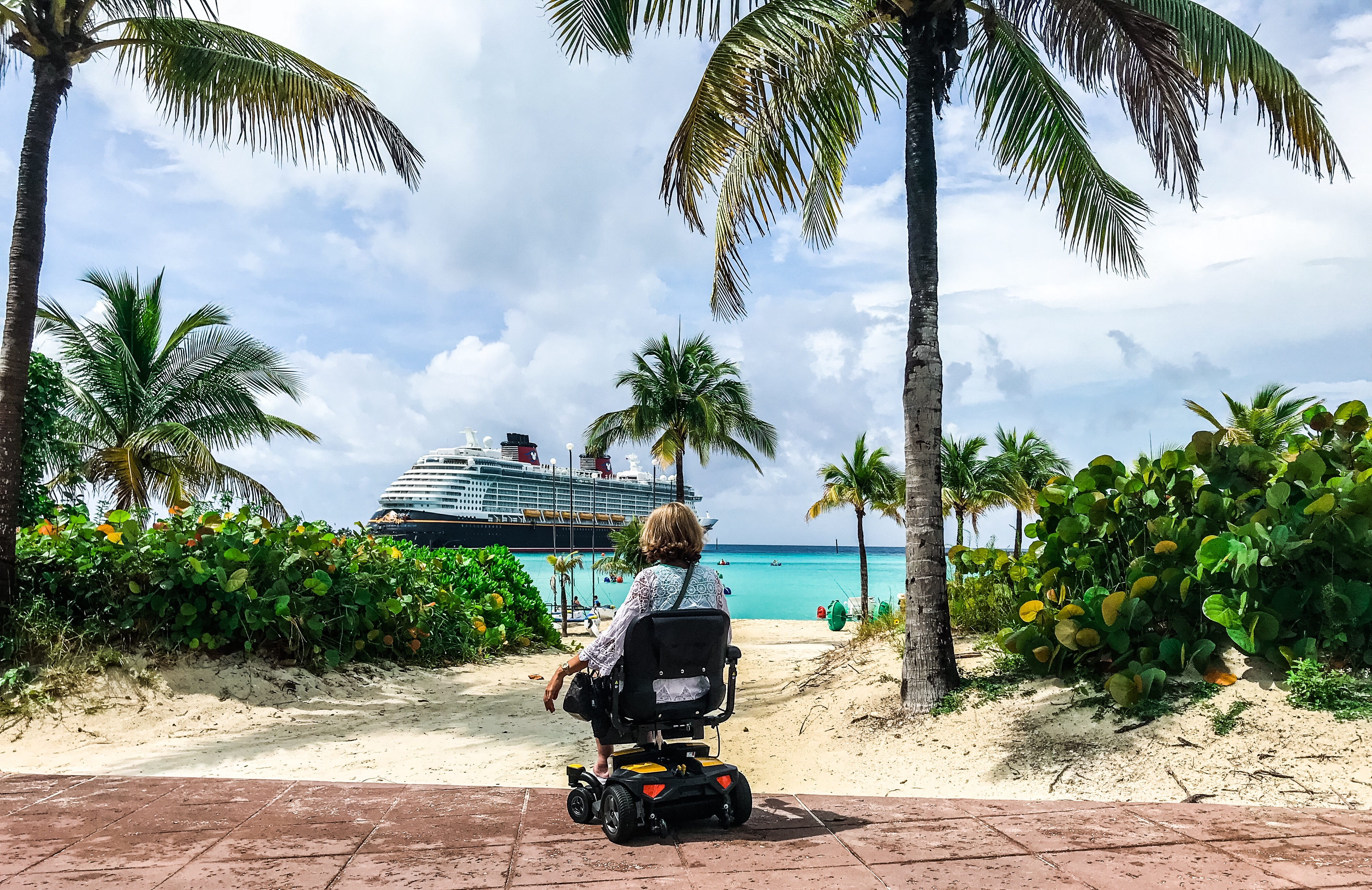 Superb Wheelchair Accessible Cruising On The Disney Dream Spin Ncnpc Chair Design For Home Ncnpcorg