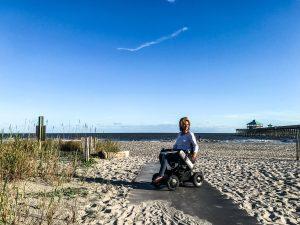 wheelchair accessible folly beach