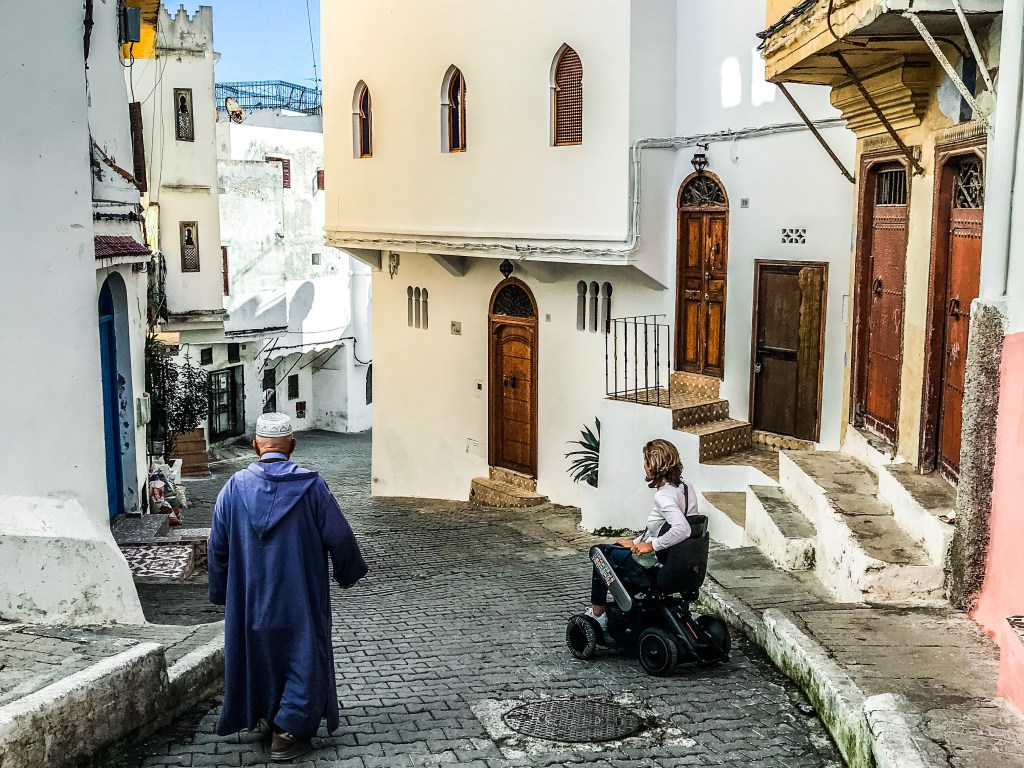 My Day Trip Adventure from Gibraltar to Tangier in a Power Wheelchair