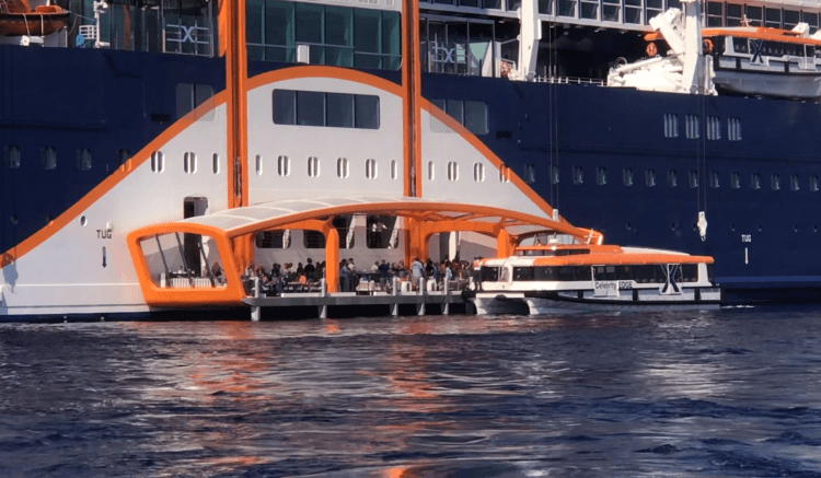 celebrity edge magic carpet wheelchair accessible