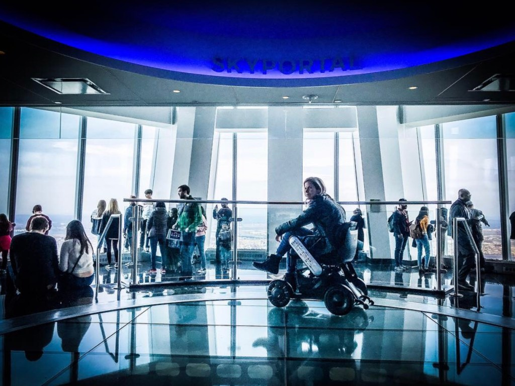 A Wheelchair User's Guide to One World Observatory in Freedom Tower