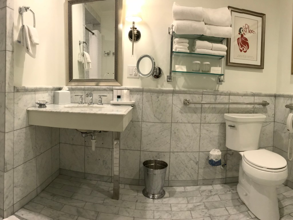 The Problem with Roll-in Showers in Wheelchair Accessible Hotel Rooms