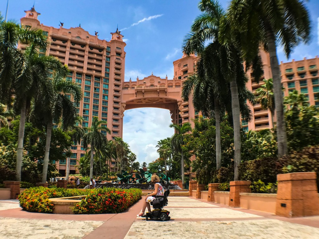 A Wheelchair User's Guide to Atlantis Paradise Island, Bahamas