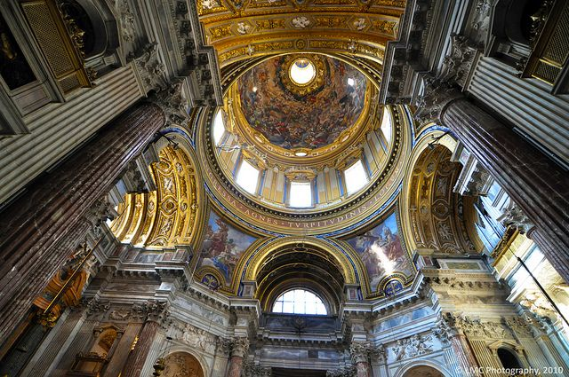 Inside the Chiesa di Sant'Agnese in Agone, Piazza Navona, 00186 Roma, Italy