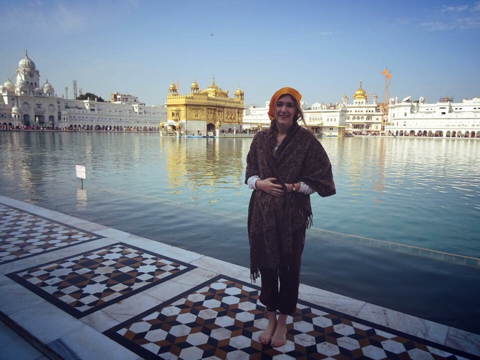 At the Golden Temple, Amritsar, India
