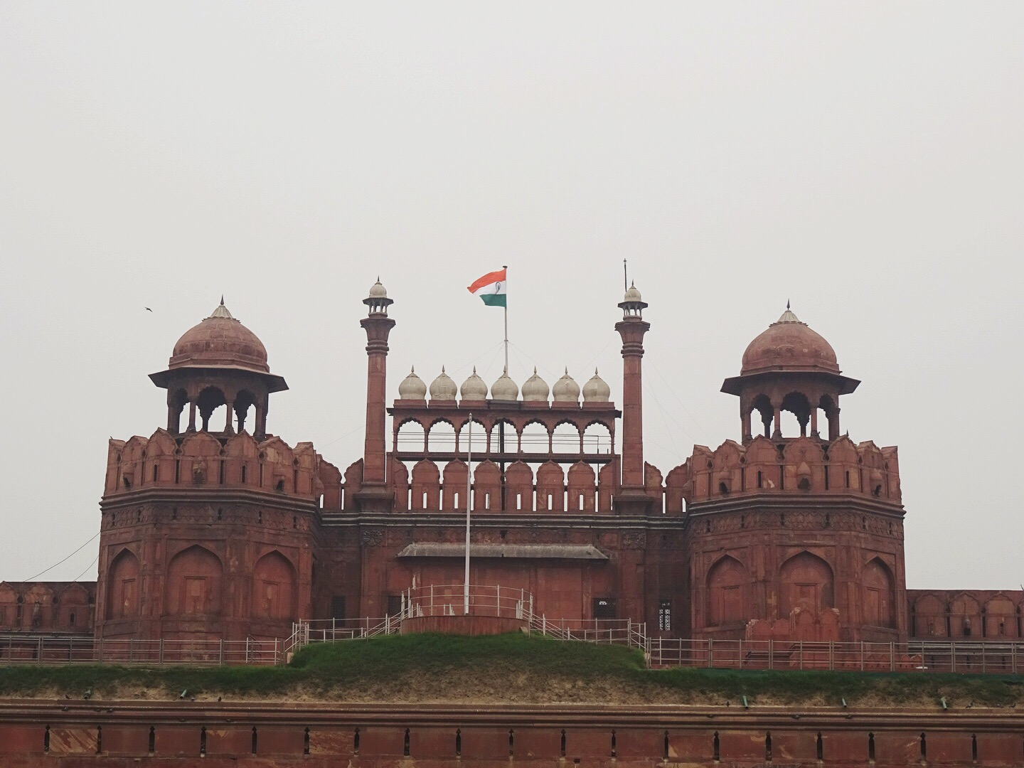 Red Fort, New Delhi, India - spinthewindrose.com