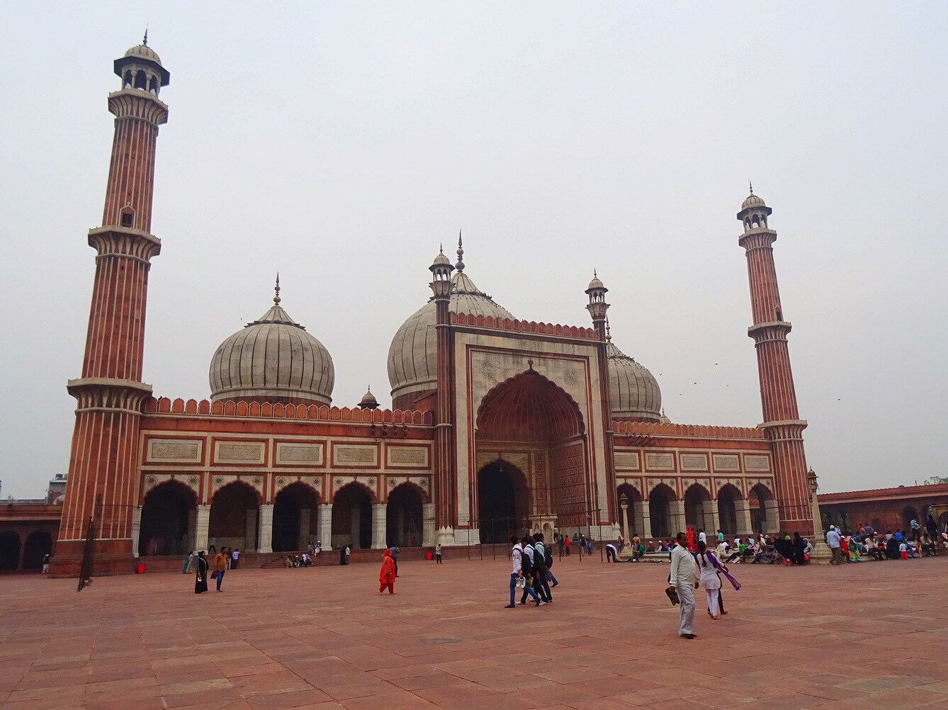 Jama Masjid, New Delhi, India - spinthewindrose.com