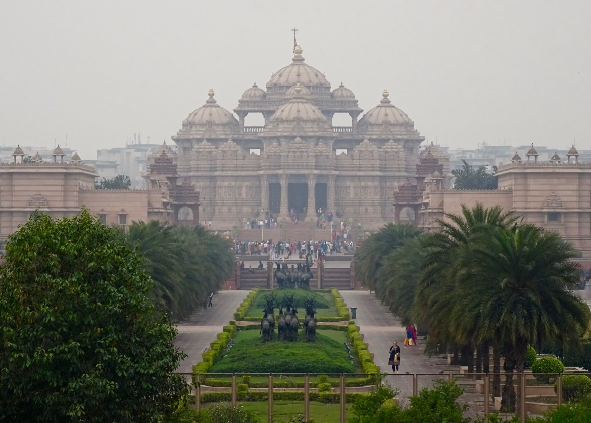 Akshardham Temple in New Delhi is mesmerising