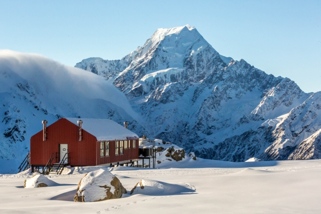 Mueller Hut, Aoraki/ Mount Cook National Park - spinthewindrose.com