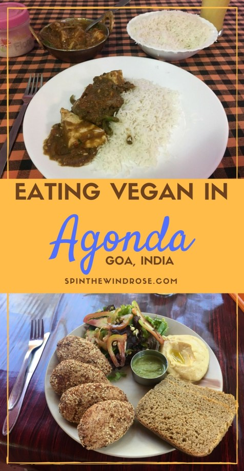 Eating Vegan in Agonda, Goa - spinthewindrose.com