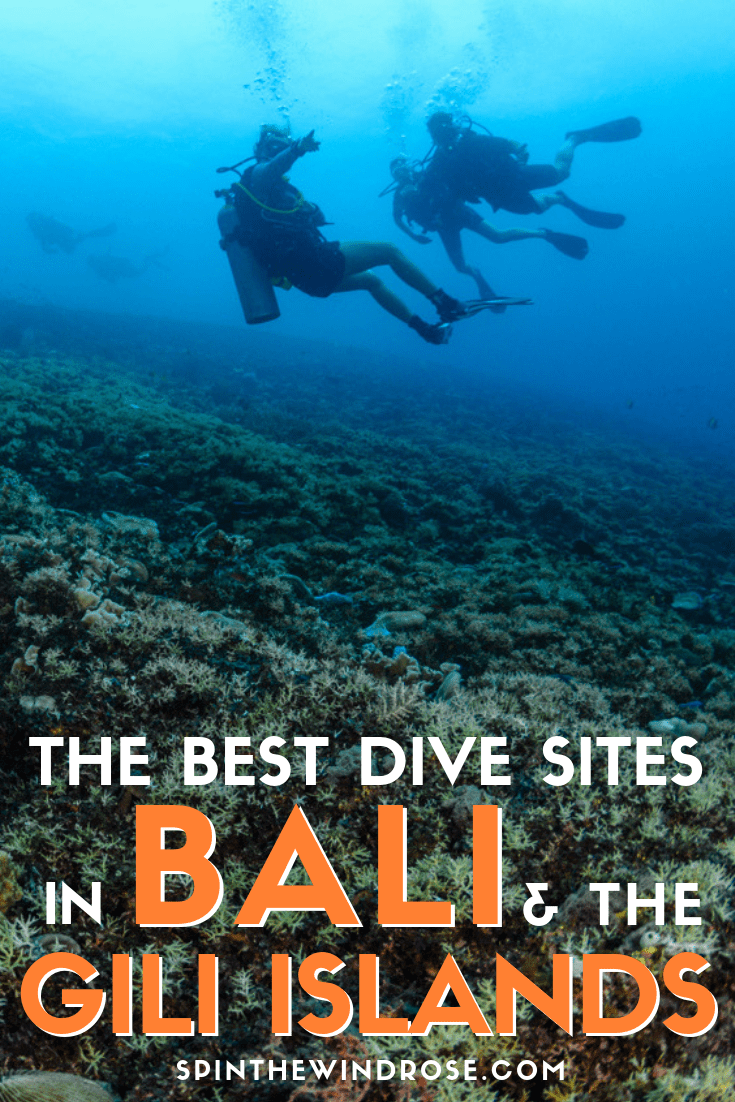 Where to go Scuba Diving in Bali and the Gili Islands - spinthewindrose.com